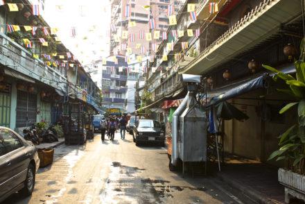 Bangkok Chinatown - Flags