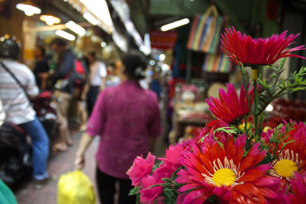 Bangkok Chinatown - Flowers