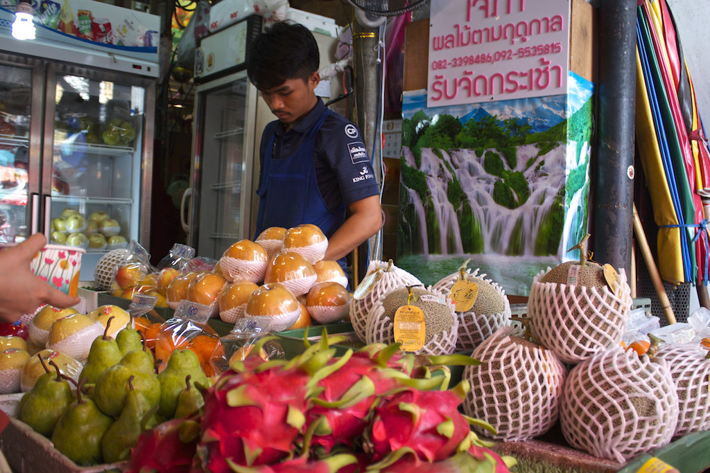 Bangkok Chinatown - Fresh Fruit