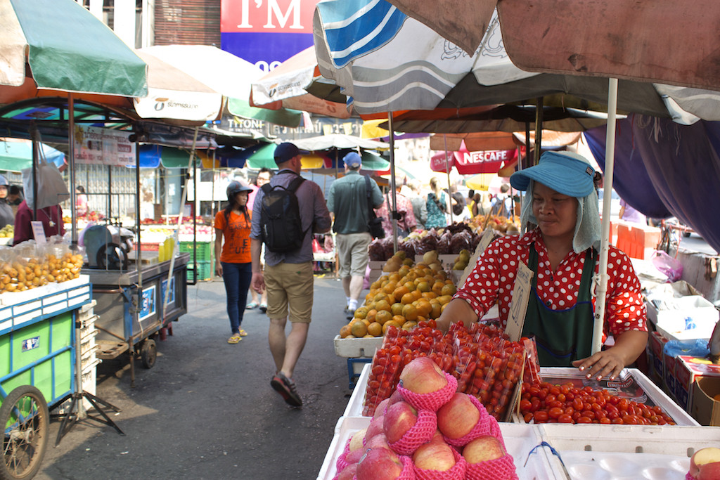 Bangkok Chinatown - Fruit and Vegetables