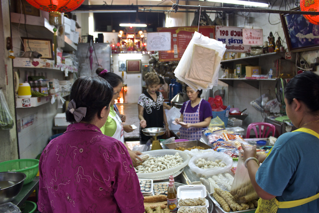 Bangkok Chinatown - Ladies Chatting
