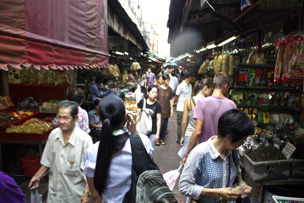 Bangkok Chinatown - Narrow Alleys