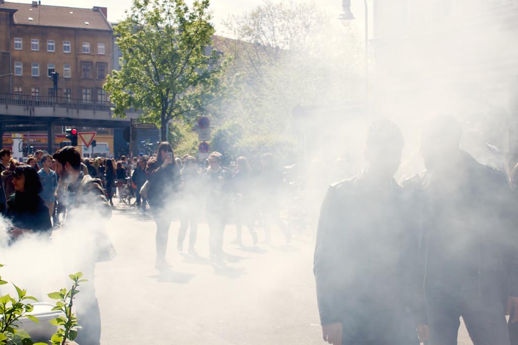 Myfest Berlin 2015 BBQ Smoke
