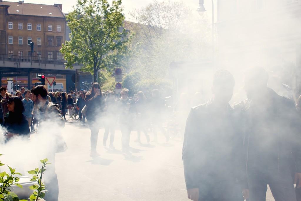 Berlin Myfest 2015 BBQ Smoke