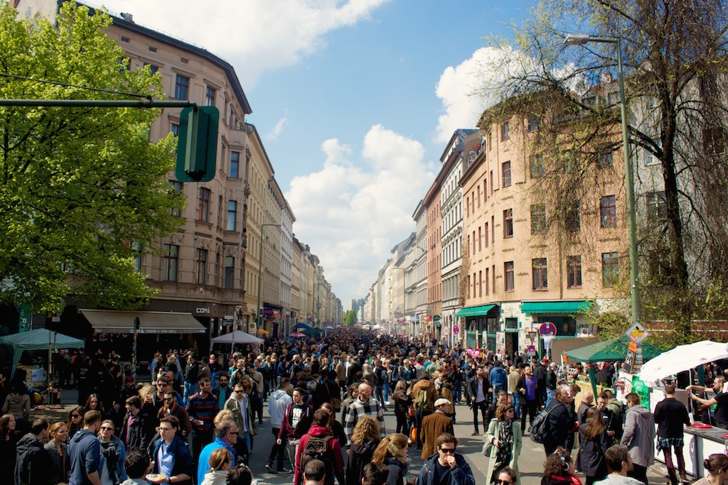 Crowds at Myfest Berlin 2015