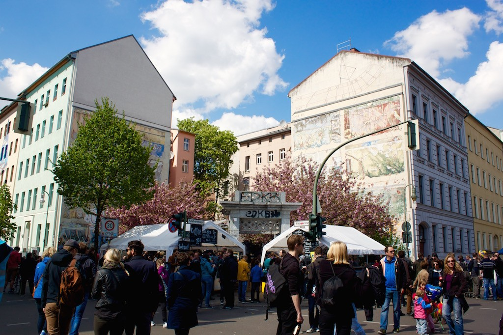 Berlin Myfest 2015 Food Stalls
