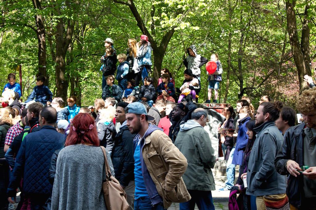 Myfest Berlin 2015 People Watching