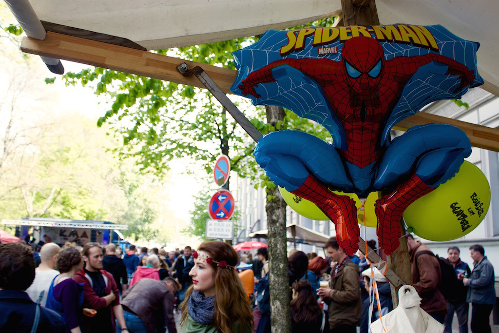 Myfest Berlin 2015 Spiderman