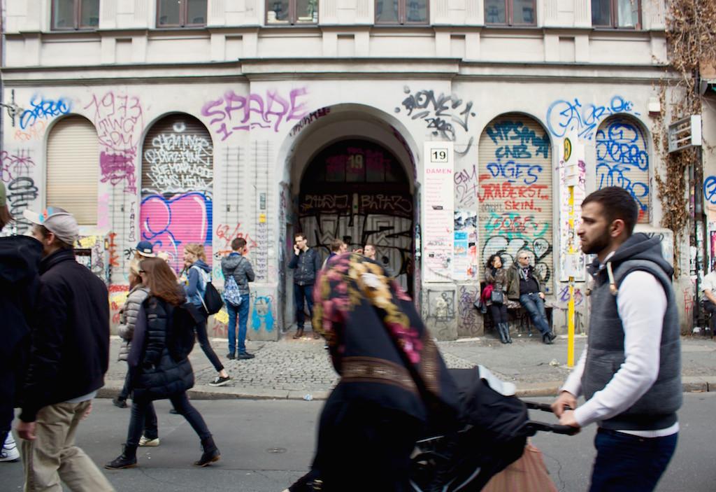 Myfest Berlin 2015 Street Art and People