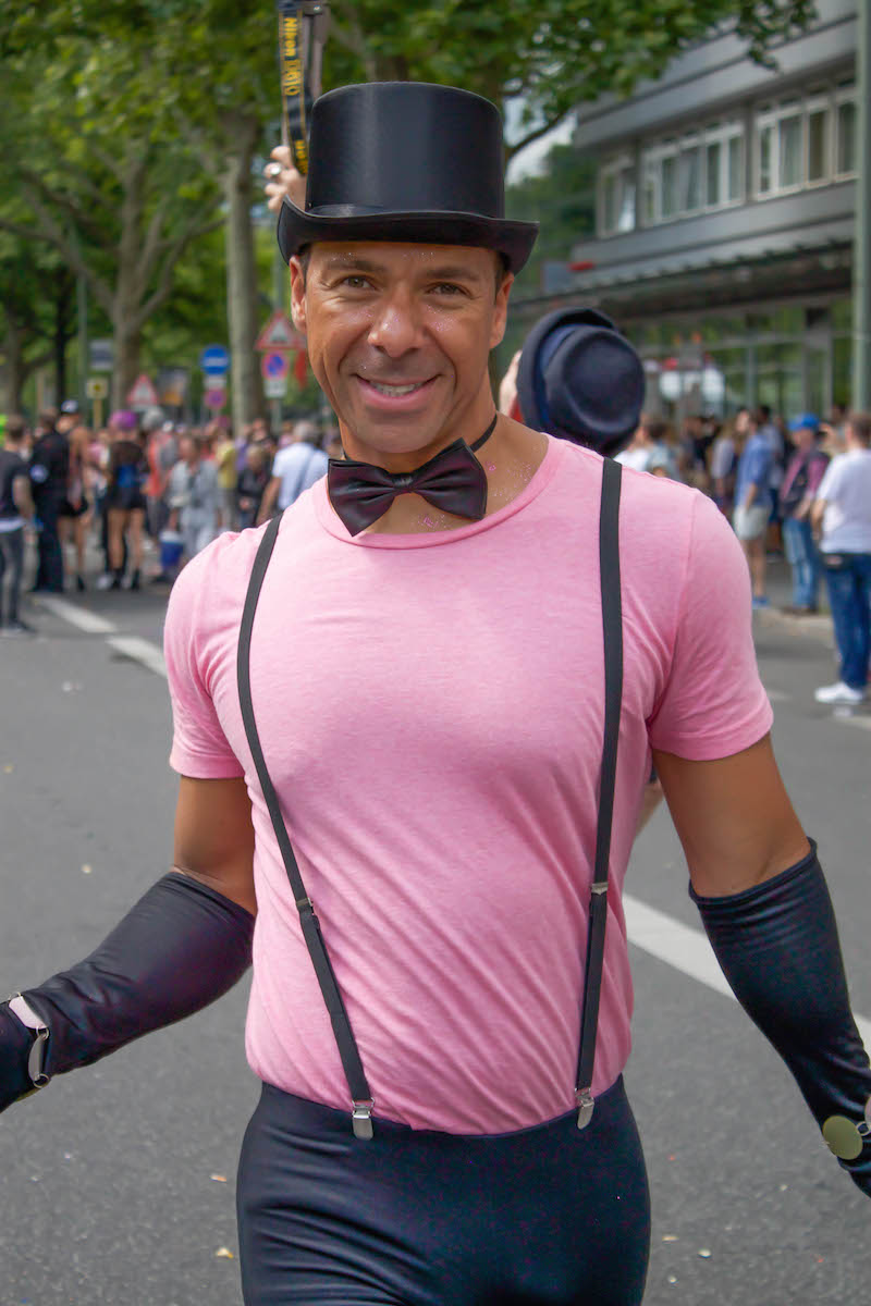 Berlin CSD 2015 Photos - Bowtie Man