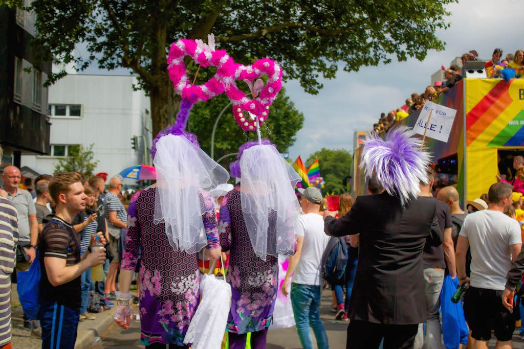 Berlin CSD 2015 Photos - Crowds and Love