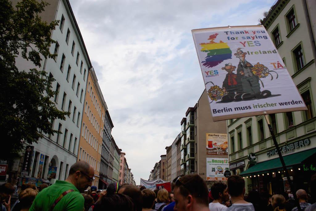Berlin CSD - Ireland Said Yes