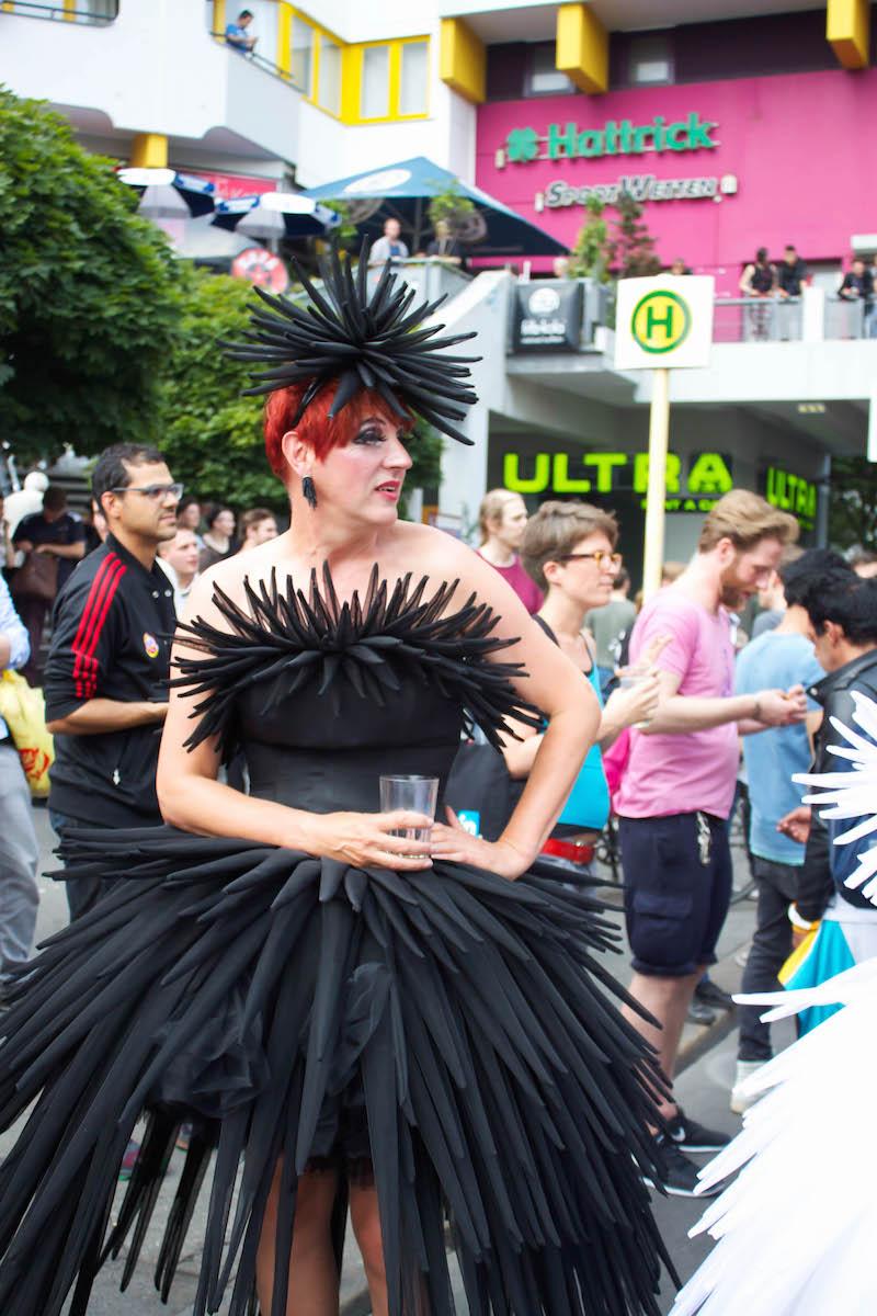 Berlin CSD - Kreuzberg Black Dress
