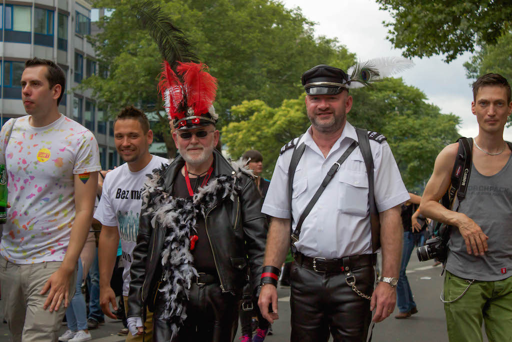 Berlin CSD 2015 Photos - Old Men Cops