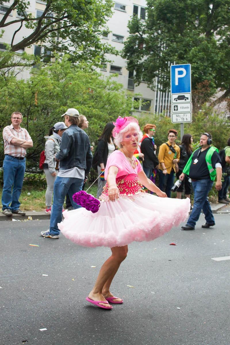 Berlin CSD 2015 Photos - Pretty in Pink Lady