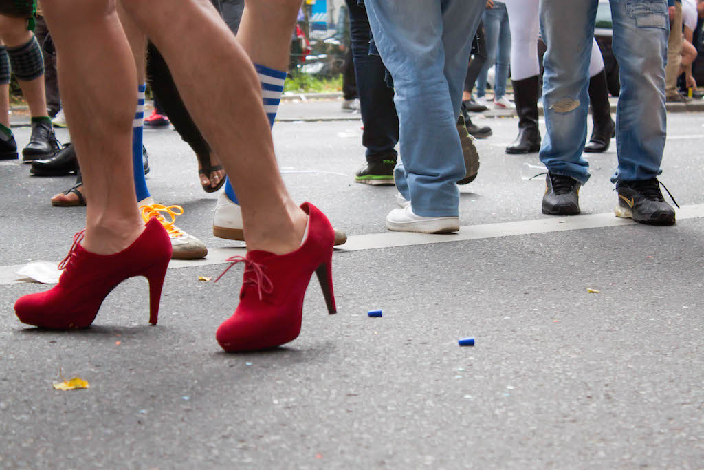 Berlin CSD 2015 Photos - Red Shoes