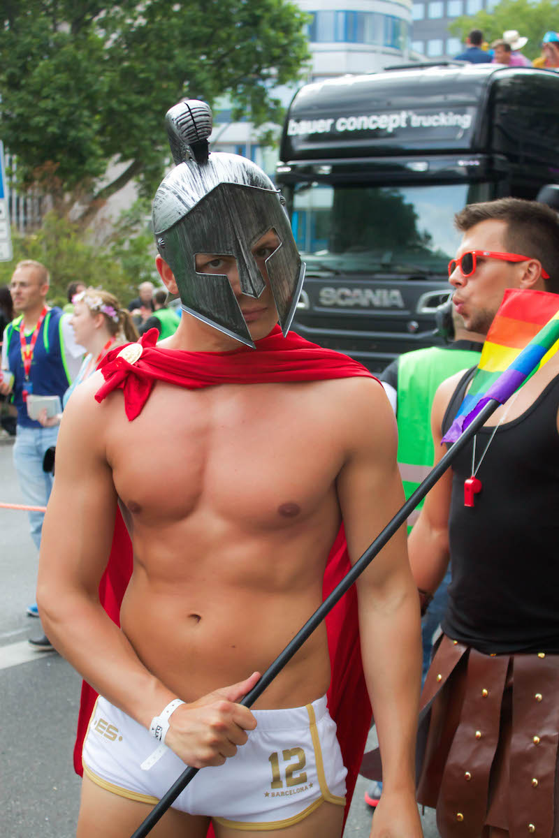 Berlin CSD 2015 Photos - Warrier Man