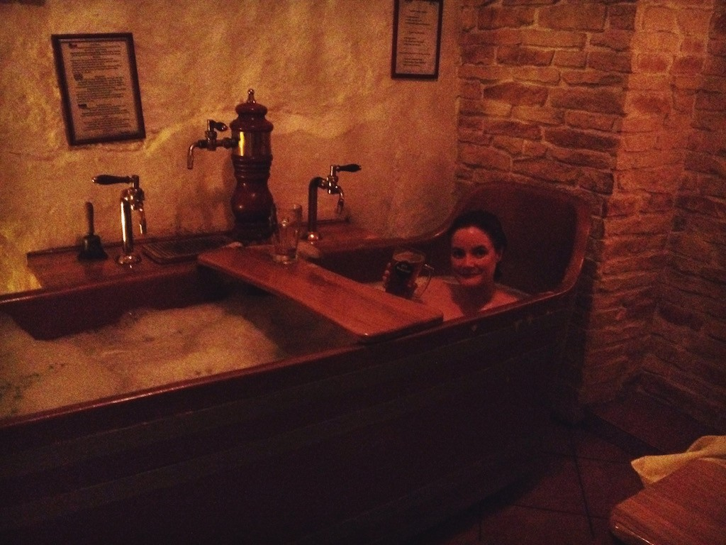 Cheryl Howard Travel Blogger at Spa Bernard Prague