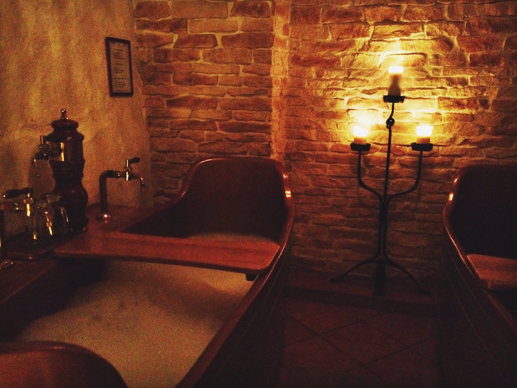 Spa Bernard Prague Beer Bath
