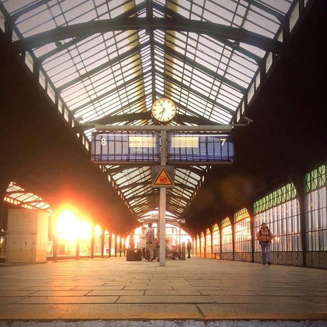 Görlitz Photos - Hauptbahnhof Sunset