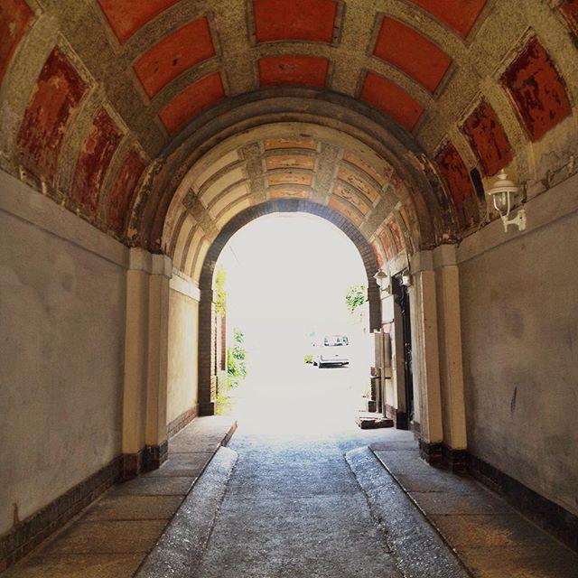 Archway in Görlitz Germany