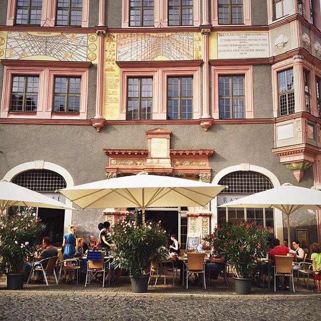 Cafe in Görlitz Germany