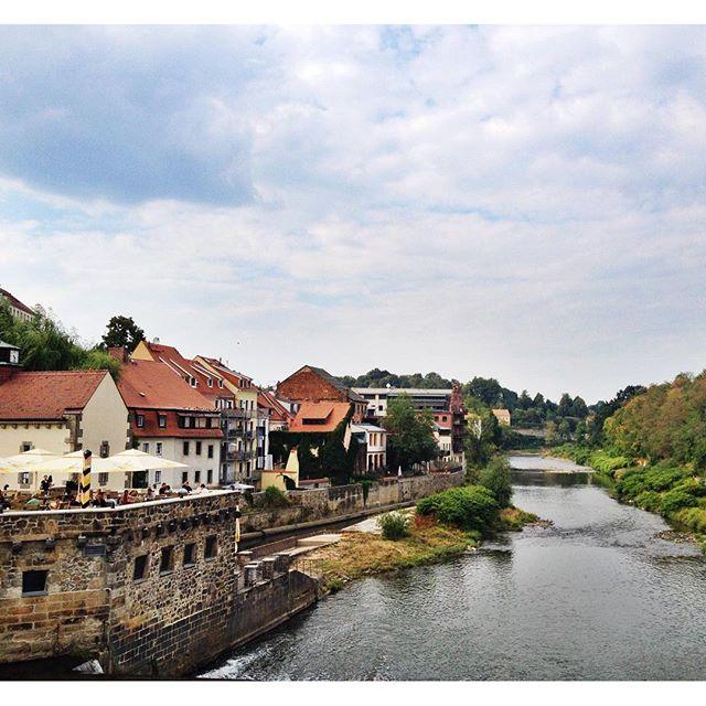 Görlitz Germany from Altstadtbrücke
