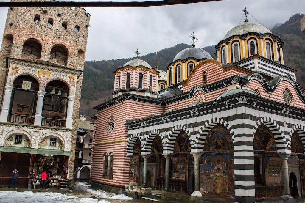Rila Monastery Exterior