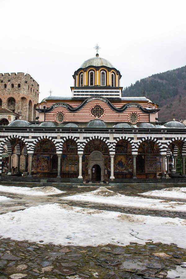 Rila Monastery Front View