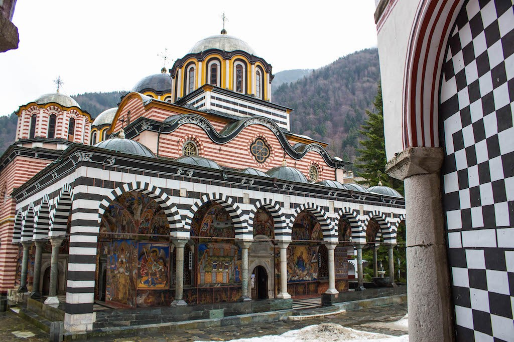 Rila Monastery Patterns