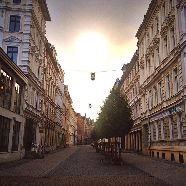 Sunset in Görlitz Germany