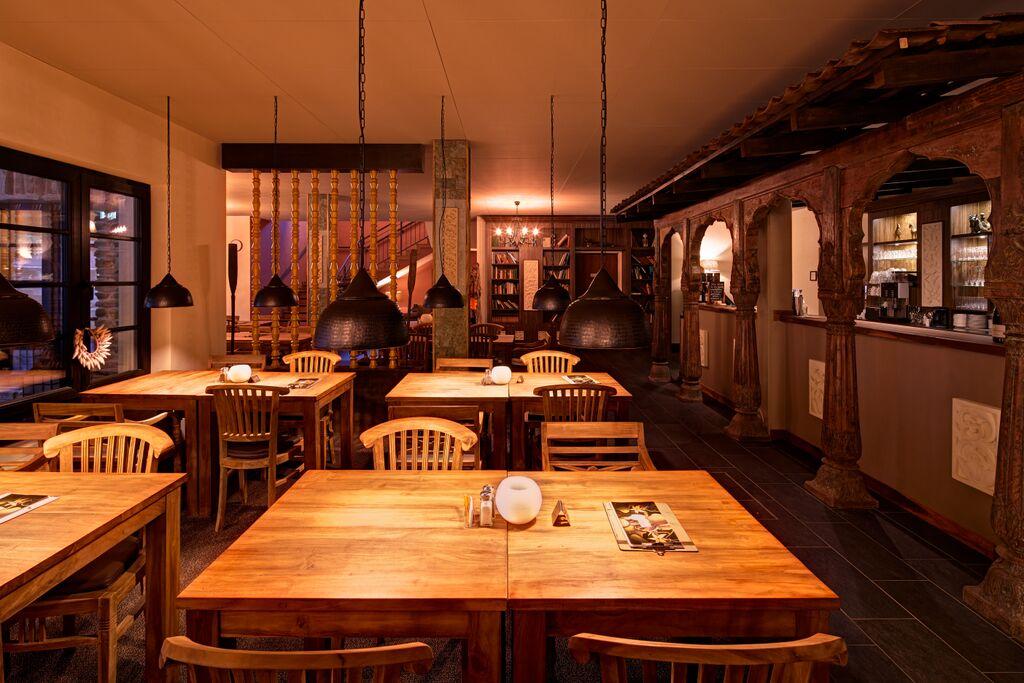 Vabali Spa in Berlin Dining Area