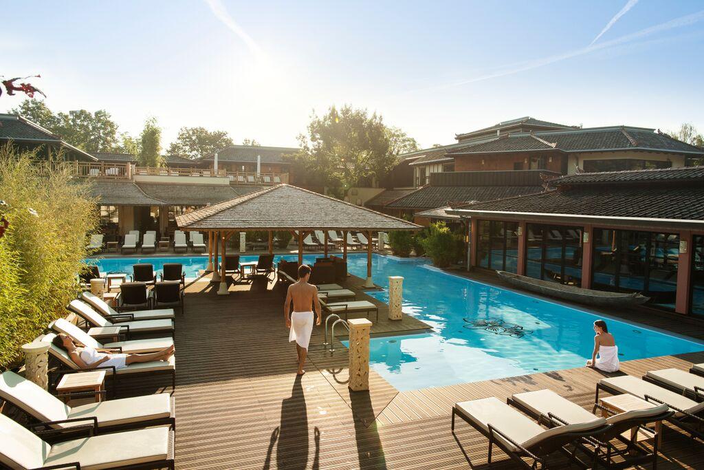 Vabali Spa in Berlin Outdoor Pool