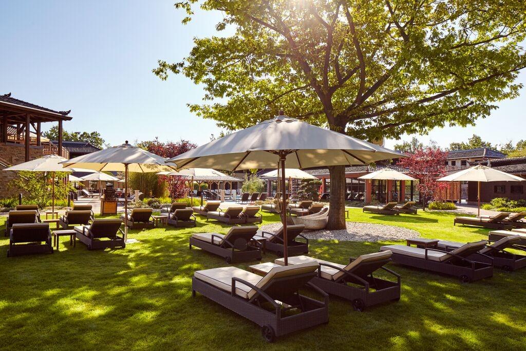 Vabali Spa in Berlin Relaxing Outdoors