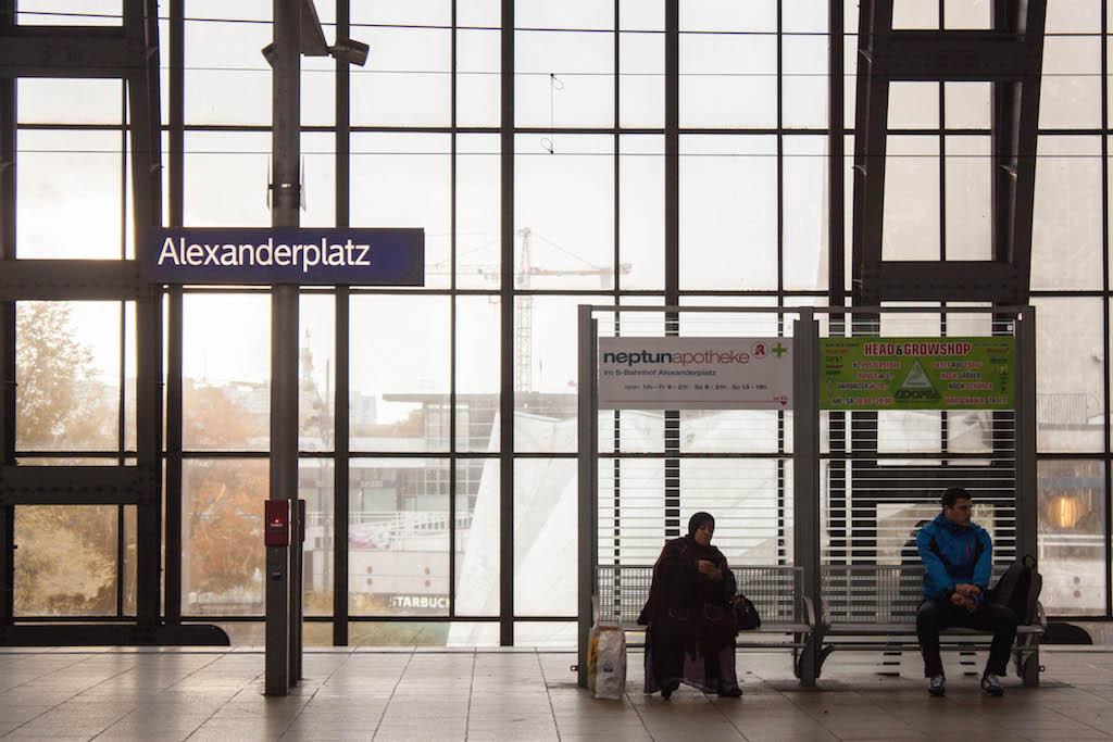 Berlin Sunday Alexanderplatz