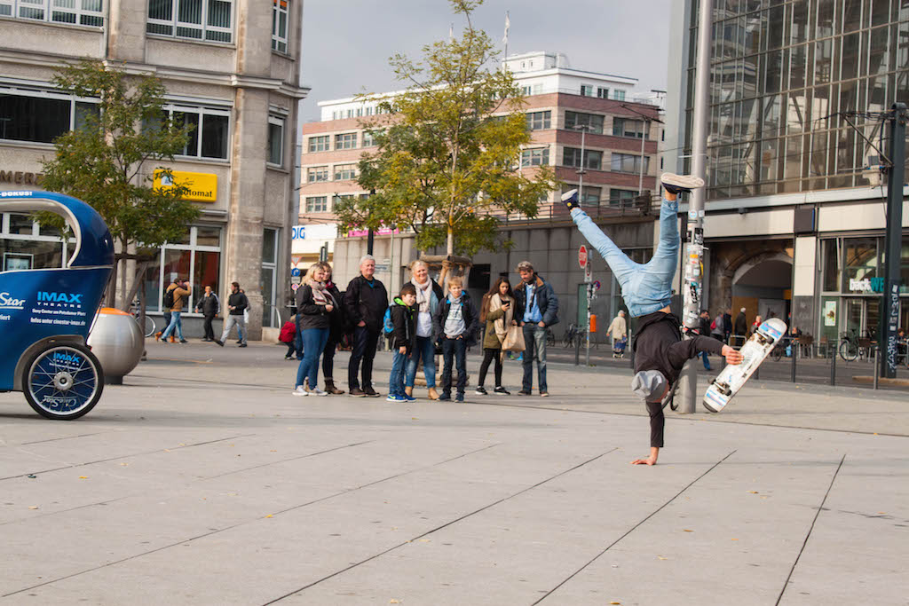Berlin Sunday Alexanderplatz Entertainment