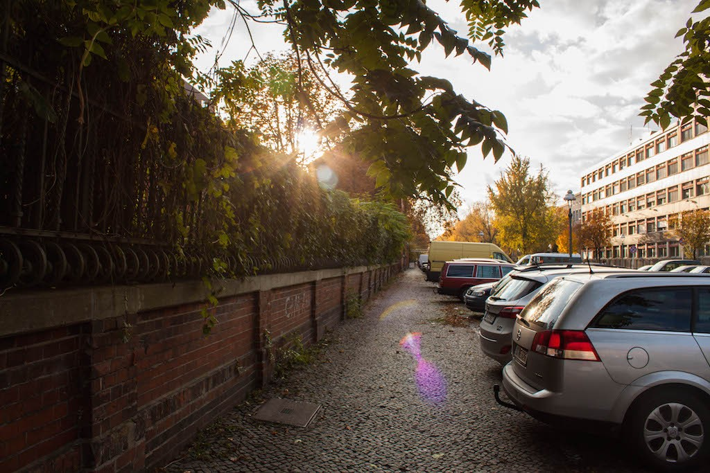 Berlin Sunday Sunshine Moabit
