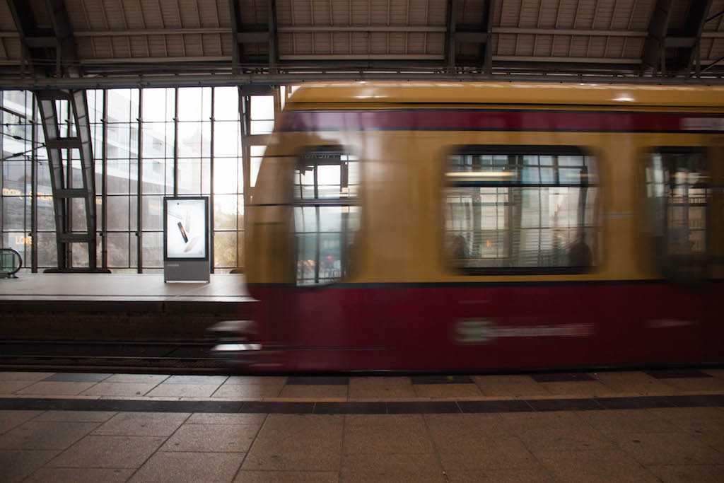 Berlin Sunday Train Alexanderplatz