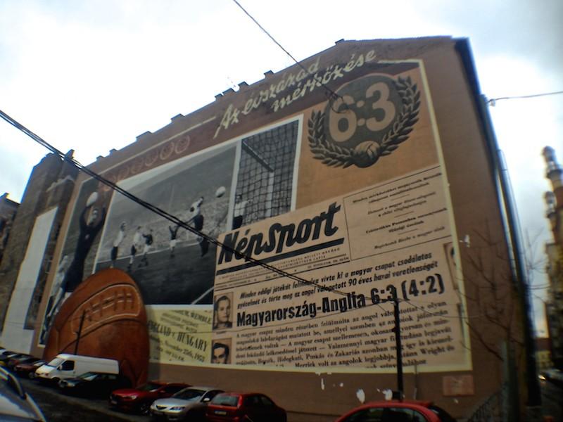 Budapest Street Art Match of the century Neopaint
