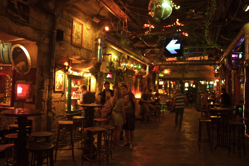Cool Places in Budapest Szimpla