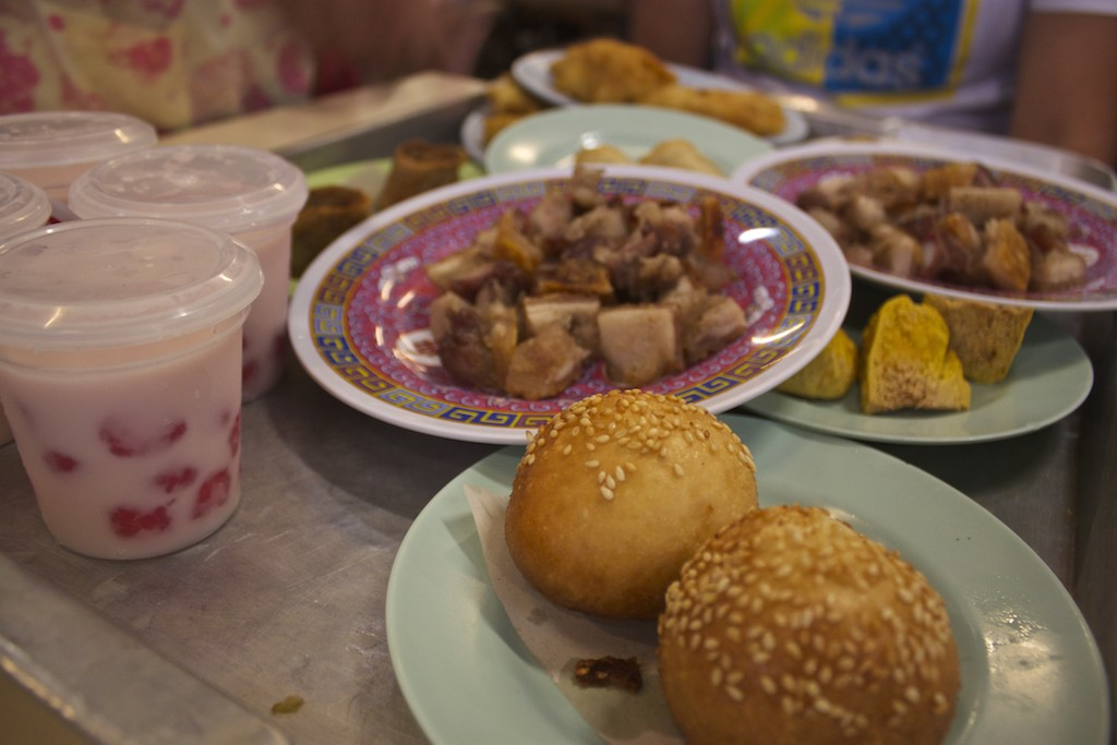 Dim Sum in Trang - Juice and Food
