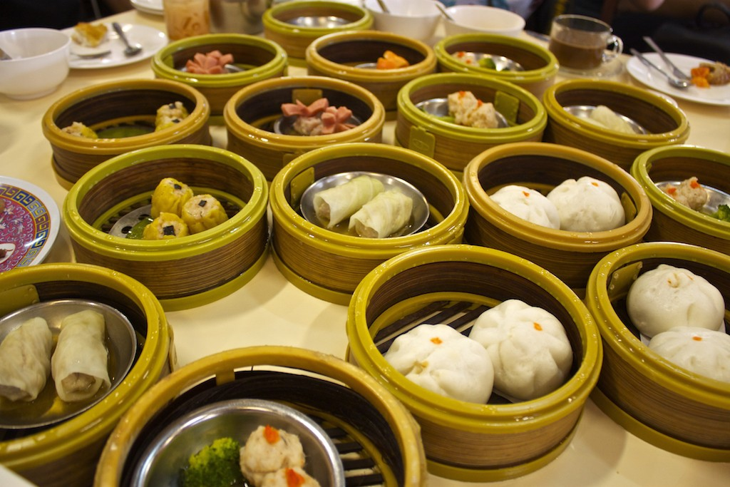Dim Sum in Trang Table Spread