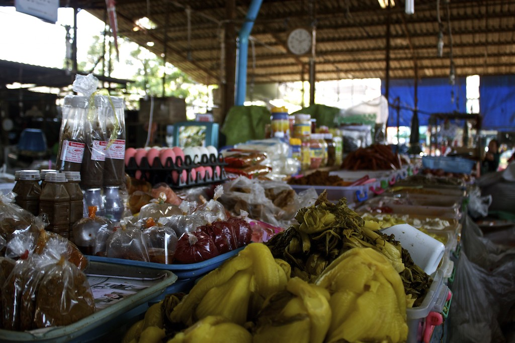 Markets in Trang Food Selections