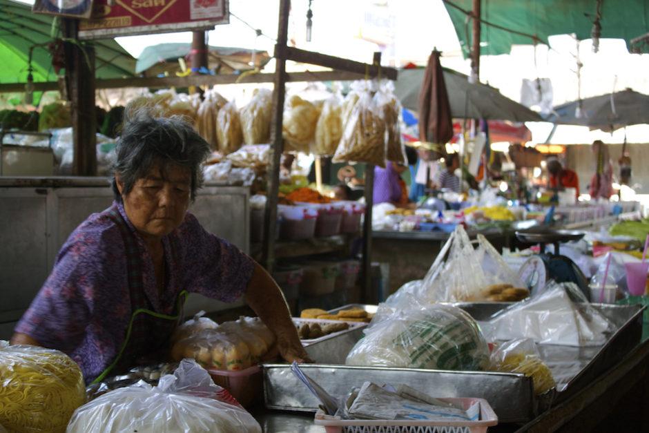Markets in Trang Food Vendor