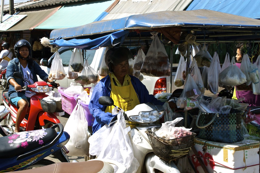 Markets in Trang Motorcycle