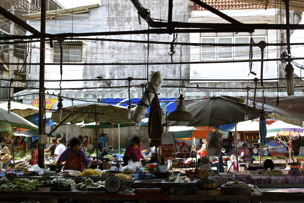 Markets in Trang Overview into Street