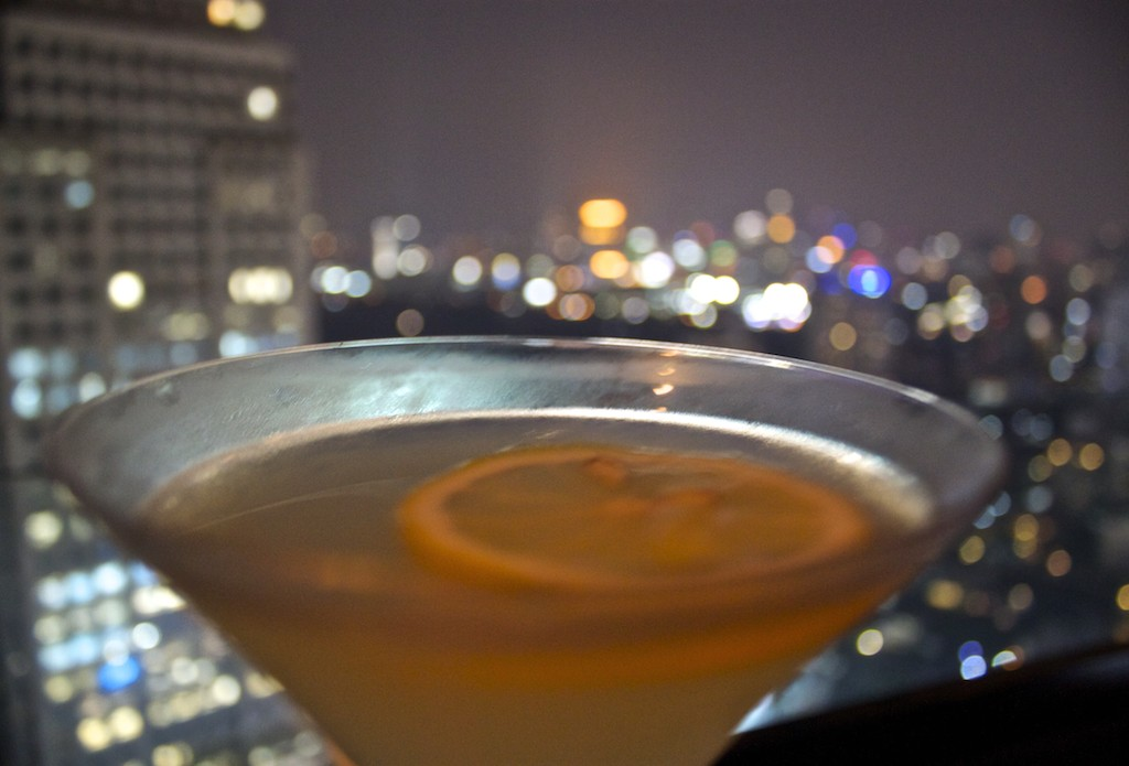 The Continent Hotel in Bangkok - Axis and Spin Cocktails