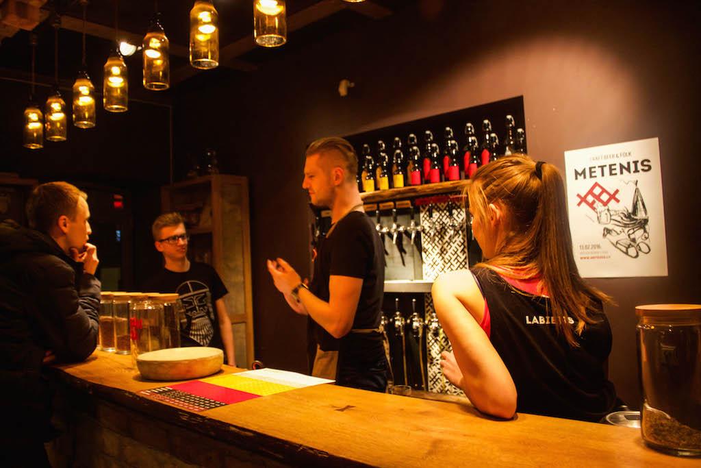 Cool Places in Riga Labietis Bar