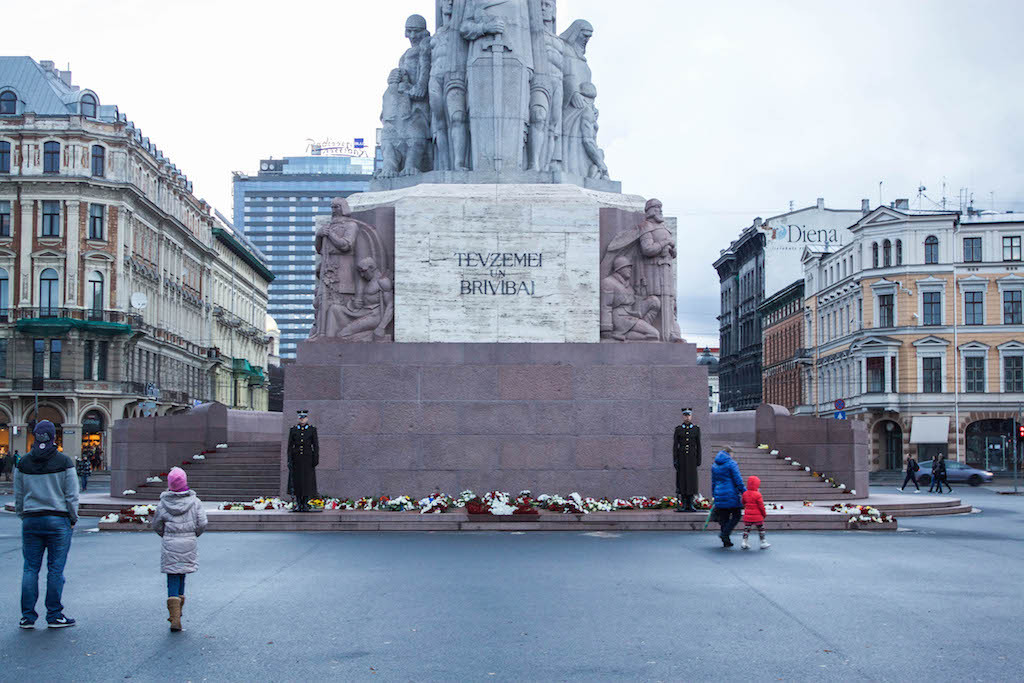 Riga Photos - Bottom of Freedom Monument