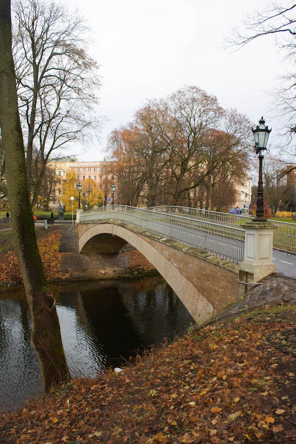 Riga Photos - Fall in the Park